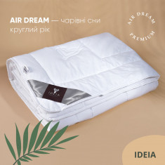 Ковдра полуторна ІДЕЯ Air Dream Premium 140х210 (силікон/перкаль)