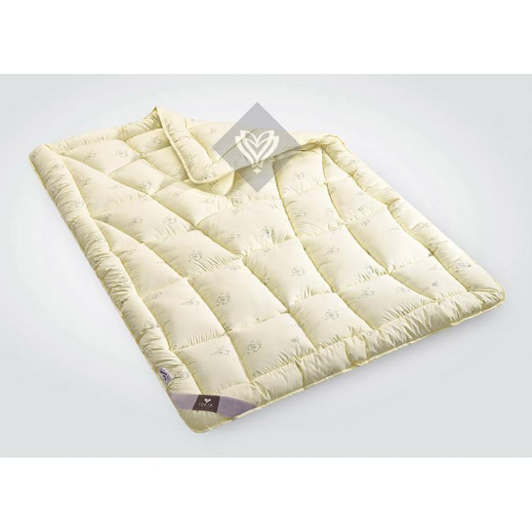 Ковдра двоспальна ІДЕЯ Wool Classic 175х210 (шерстепон/мікрофібра)