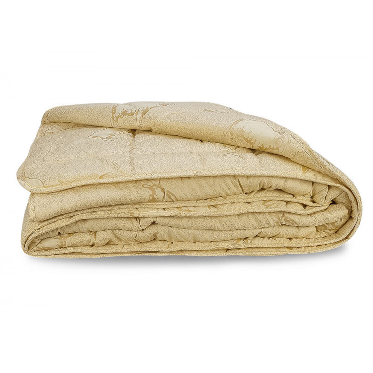 Ковдра Leleka-Textile Овеча вовна Весна-Осінь 200х220 (овеча вовна/мікрофібра)