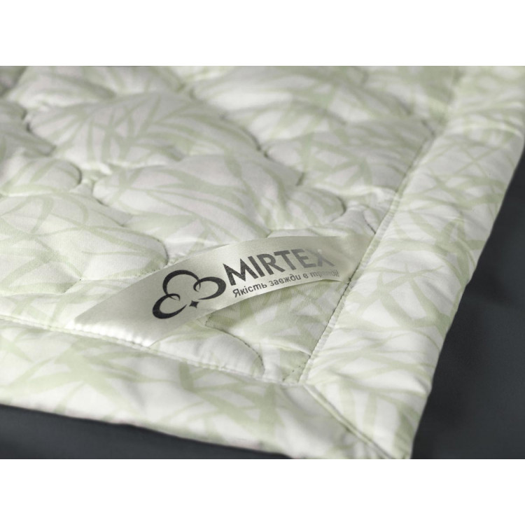 Ковдра конопляна двоспальна Mirtex 170х210 (конопляне волокно/сатин)