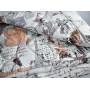 Ковдра двоспальна Mirtex 200х220 (овеча вовна/бязь)