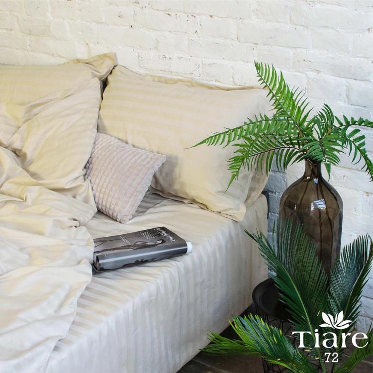 Комплект постільної білизни Вілюта Tiare сатин страйп 72 полуторний