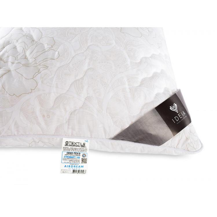 Подушка ІДЕЯ Air Dream Classic 50x70 см (силіконізоване гранульоване волокно/мікрофібра)