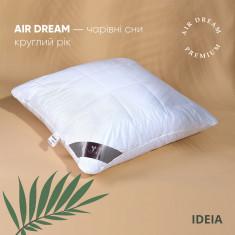 Подушка ІДЕЯ Air Dream Premium 70x70 см (силікон/перкаль)