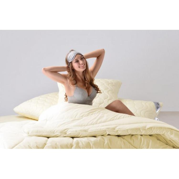 Подушка ІДЕЯ Wool Premium 70x70 см (шерстепон/перкаль)