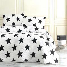 Покривало стебане Eponj Home Big Star 160x220