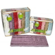 Набір рушників Cestepe® Bamboo Grek Light 70x140 см (6 шт.)